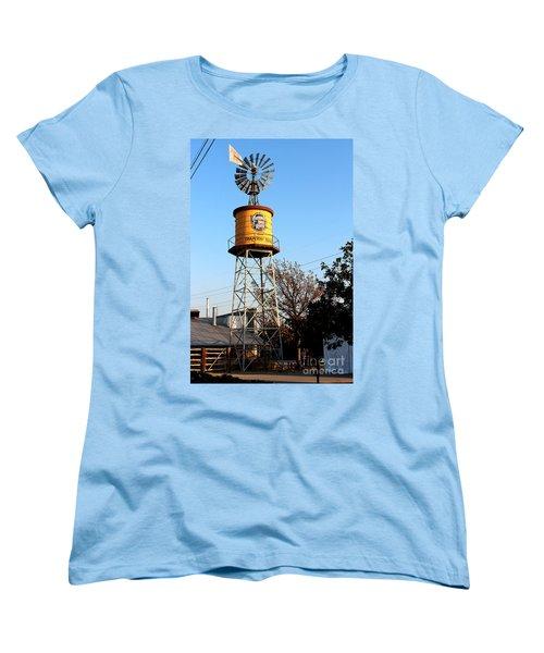 Cotton Belt Route Water Tower In Grapevine Women's T-Shirt (Standard Cut)