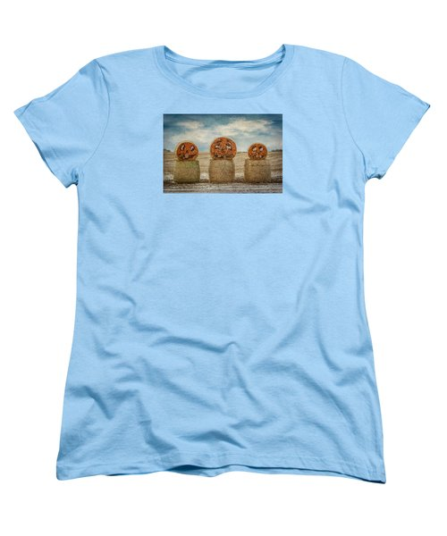 Women's T-Shirt (Standard Cut) featuring the photograph Country Halloween by Patti Deters