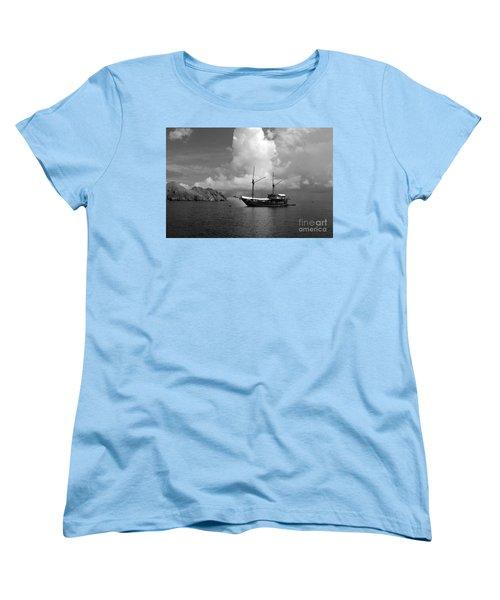 Cove  Women's T-Shirt (Standard Cut) by Sergey Lukashin
