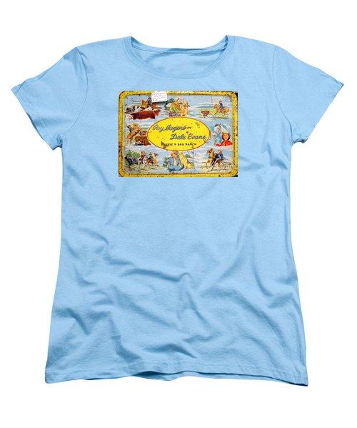 Cowboy Lunchbox Women's T-Shirt (Standard Cut) by Ed Weidman