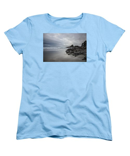 Cox Bay Afternoon  Women's T-Shirt (Standard Cut) by Roxy Hurtubise
