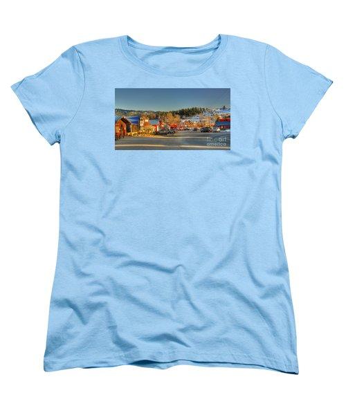 Women's T-Shirt (Standard Cut) featuring the photograph Crouch Main St by Sam Rosen