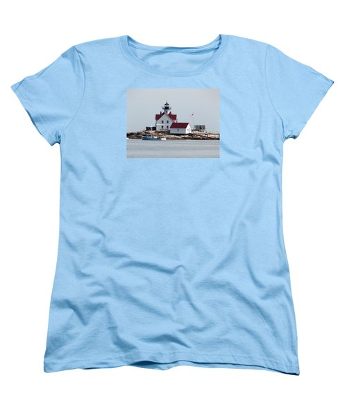 Cuckholds Lighthouse Women's T-Shirt (Standard Cut) by Catherine Gagne