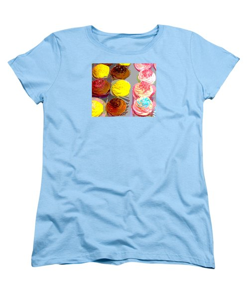Cupcake Suite Women's T-Shirt (Standard Cut) by Beth Saffer