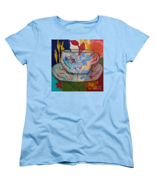 Cuppa Luv Women's T-Shirt (Standard Cut) by Robin Maria Pedrero