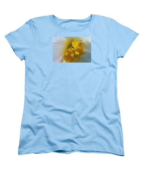Women's T-Shirt (Standard Cut) featuring the photograph Curly by Wendy Wilton