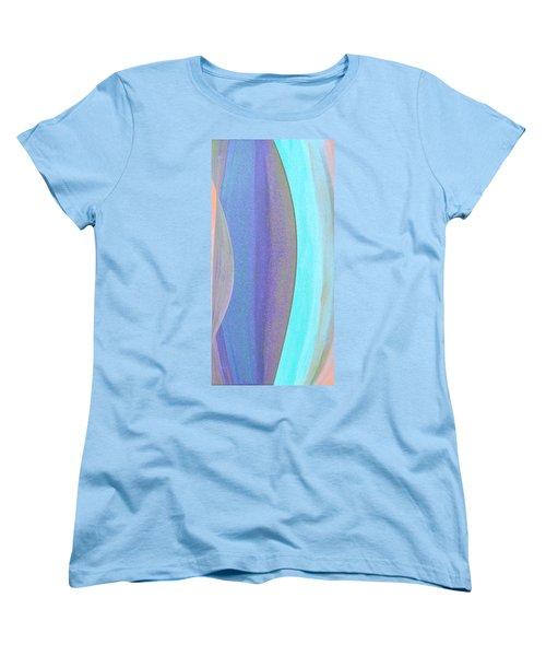 Curves1 Women's T-Shirt (Standard Cut) by Stephanie Grant