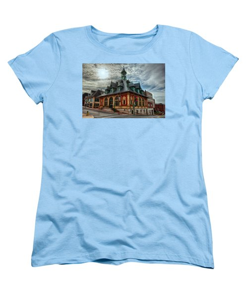 Customs House Museum Women's T-Shirt (Standard Cut) by Dan McManus