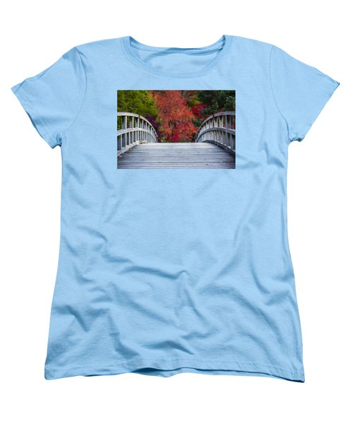 Cypress Bridge Women's T-Shirt (Standard Cut) by Sebastian Musial