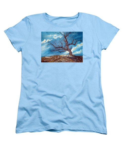 Daddy's Tree Women's T-Shirt (Standard Cut) by Meaghan Troup