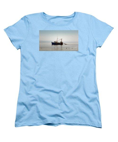 Daily Catch Women's T-Shirt (Standard Cut) by Lynn Bolt