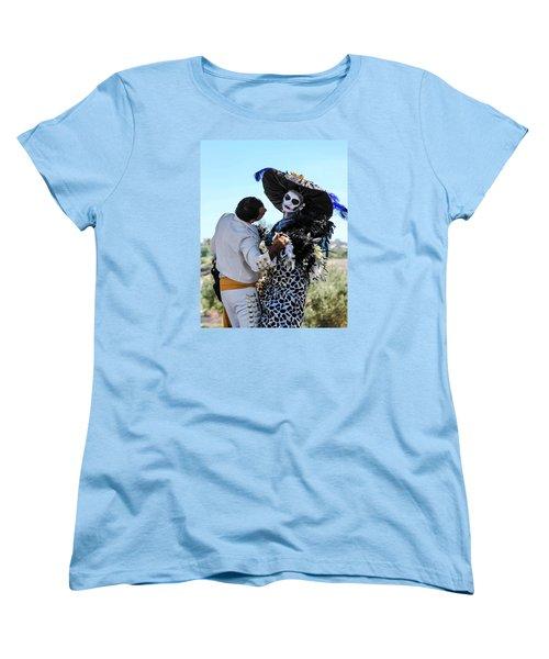 Dancing With The Death Women's T-Shirt (Standard Cut) by Menachem Ganon