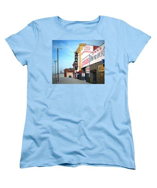 Dan's Women's T-Shirt (Standard Cut) by Stacy C Bottoms