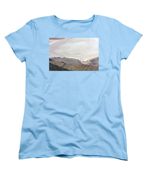 Women's T-Shirt (Standard Cut) featuring the photograph Dante's View #2 by Stuart Litoff
