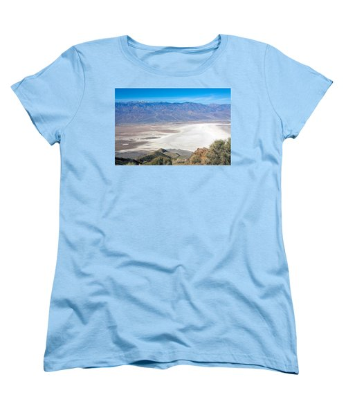 Women's T-Shirt (Standard Cut) featuring the photograph Dante's View #3 by Stuart Litoff