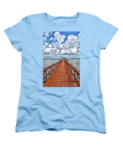 Daufuskie Pier Women's T-Shirt (Standard Cut)