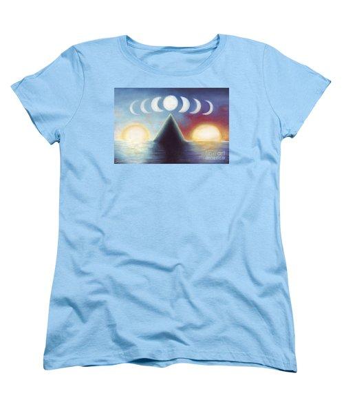 Dawn Dusk And In-between Women's T-Shirt (Standard Cut) by Samantha Geernaert