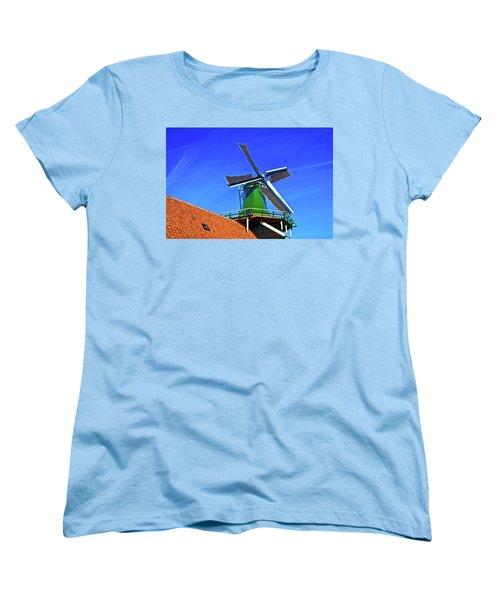 De Huisman Spice Mill Women's T-Shirt (Standard Cut) by Jonah  Anderson
