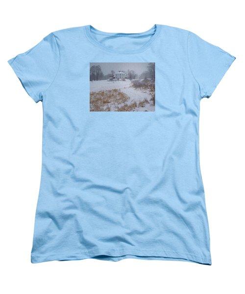 Women's T-Shirt (Standard Cut) featuring the photograph December by Joy Nichols