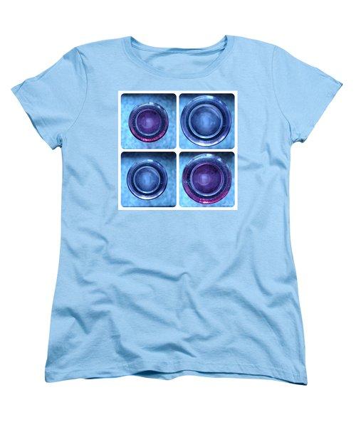 Women's T-Shirt (Standard Cut) featuring the photograph Deep Thoughts Part One by Sir Josef - Social Critic - ART