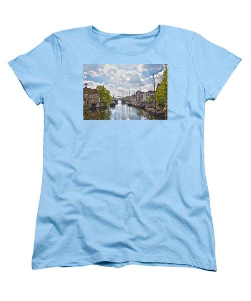 Delfshaven Rotterdam Women's T-Shirt (Standard Cut) by Frans Blok