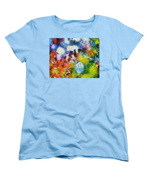 Women's T-Shirt (Standard Cut) featuring the digital art Delightful Surprise by Joe Misrasi
