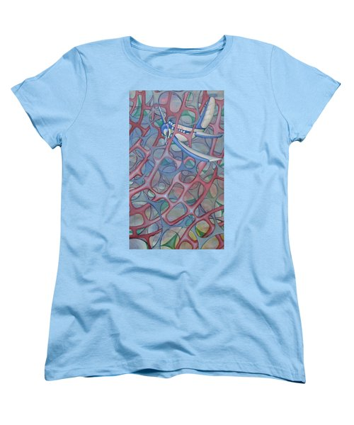 Delta In A Web Women's T-Shirt (Standard Cut)