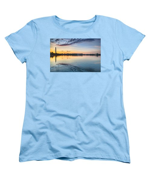 Women's T-Shirt (Standard Cut) featuring the photograph Democracy Awakens by Sebastian Musial