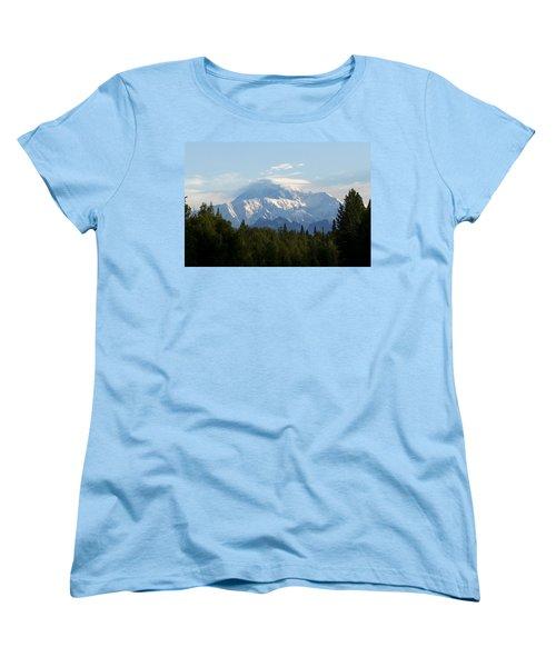 Denali A Closer Look Women's T-Shirt (Standard Cut) by Tara Lynn