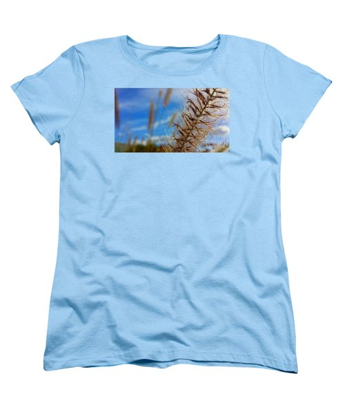 Desert Foliage Women's T-Shirt (Standard Cut) by Chris Tarpening