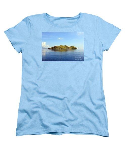 Desert Island Women's T-Shirt (Standard Cut) by Sergey Lukashin