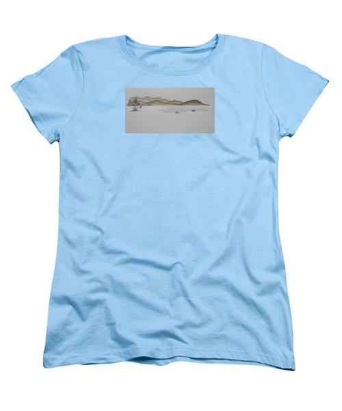 Desert Oasis Women's T-Shirt (Standard Cut) by Christine Lathrop