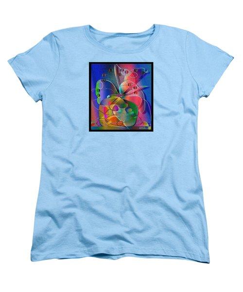 Women's T-Shirt (Standard Cut) featuring the digital art Design #29 by Iris Gelbart