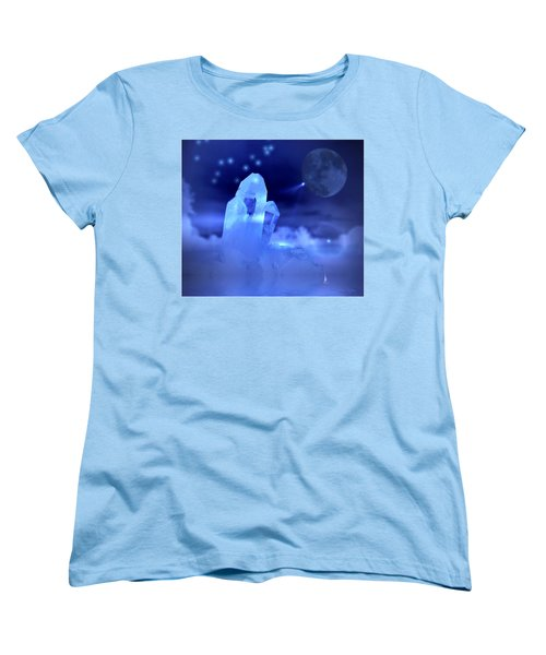 Women's T-Shirt (Standard Cut) featuring the photograph Discoveries by Joyce Dickens