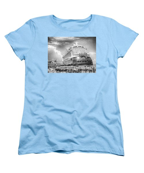 Women's T-Shirt (Standard Cut) featuring the photograph Disney Fantasy by Howard Salmon