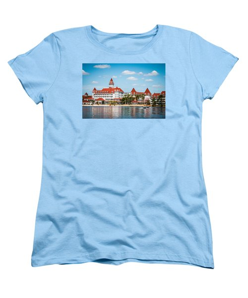 Disney's Grand Floridian Resort And Spa Women's T-Shirt (Standard Cut) by Sara Frank