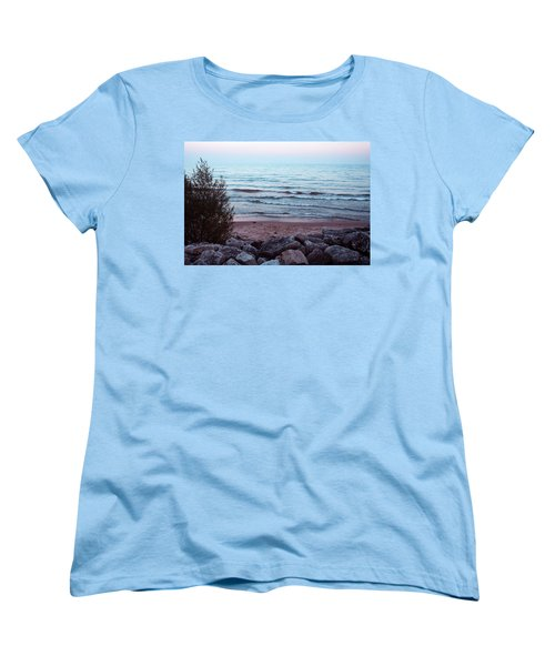 Distance  Women's T-Shirt (Standard Cut) by Jamie Lynn