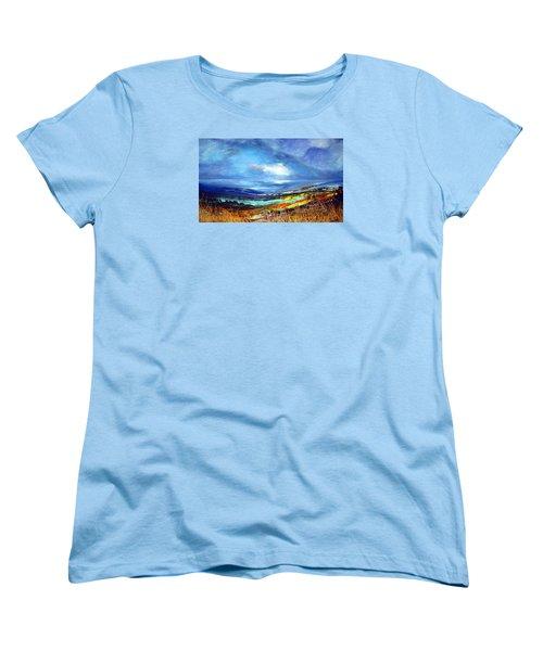 Distant Vista Women's T-Shirt (Standard Cut)