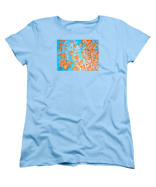Dogwoods Women's T-Shirt (Standard Cut) by Donna Dixon