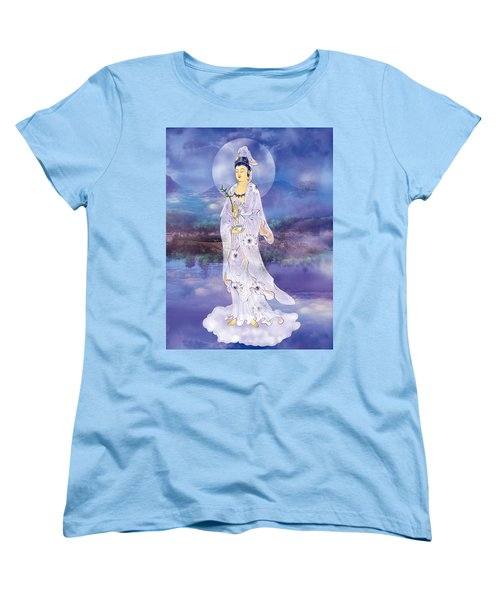 Women's T-Shirt (Standard Cut) featuring the photograph Doro Guanyin by Lanjee Chee