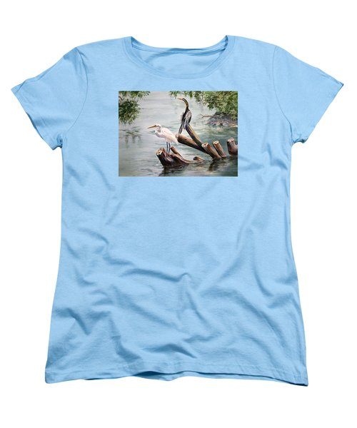 Double Trouble Women's T-Shirt (Standard Cut) by Roxanne Tobaison