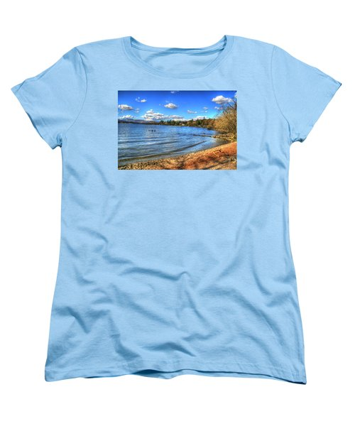 Women's T-Shirt (Standard Cut) featuring the photograph Down By The Riverside by Doc Braham