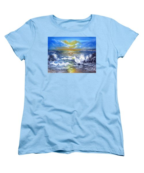 Down Came The Sun  Women's T-Shirt (Standard Cut) by Patrice Torrillo