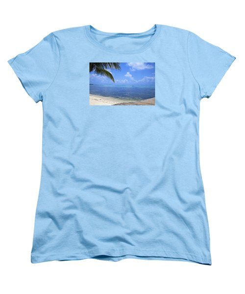 Down Island Women's T-Shirt (Standard Cut) by Stephen Anderson