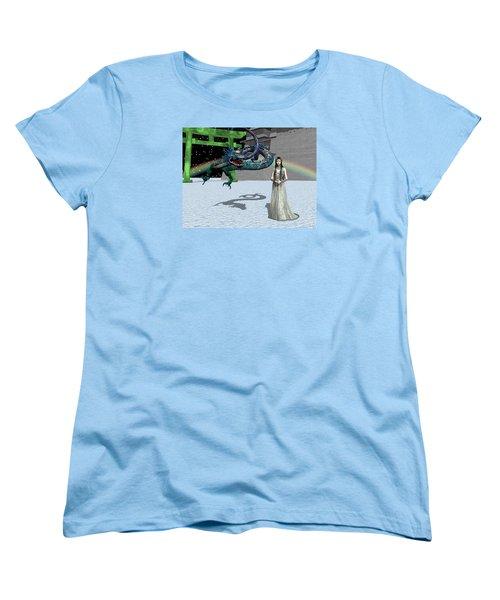 Dragon New Year Women's T-Shirt (Standard Cut) by Michele Wilson