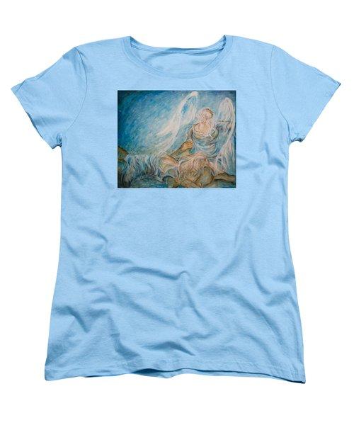 Drifting 02 Women's T-Shirt (Standard Cut) by Nik Helbig