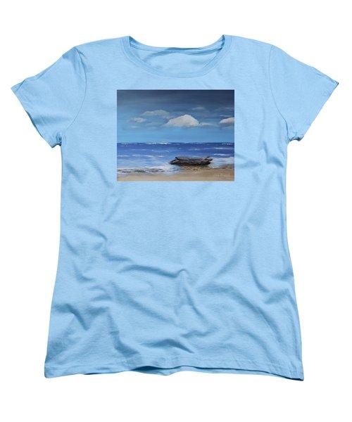Driftwood Women's T-Shirt (Standard Cut) by Dick Bourgault