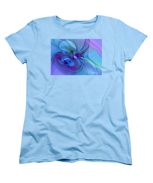 Driven To Abstraction Women's T-Shirt (Standard Cut) by Peggy Hughes