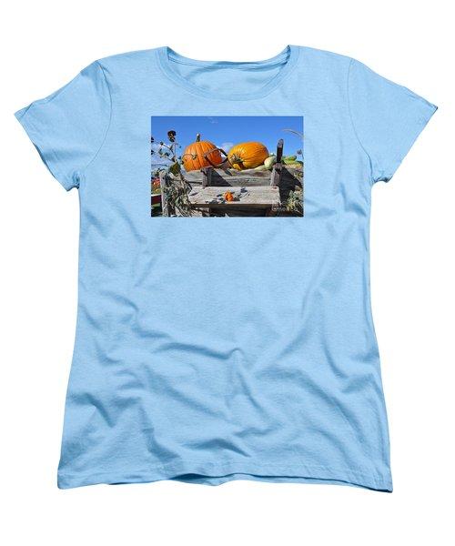 Women's T-Shirt (Standard Cut) featuring the photograph Driver Needed by Minnie Lippiatt