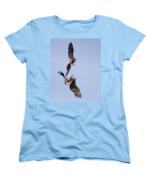 Eagle Ballet Women's T-Shirt (Standard Cut) by Randy Hall
